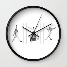 Degrees of Mercury Wall Clock