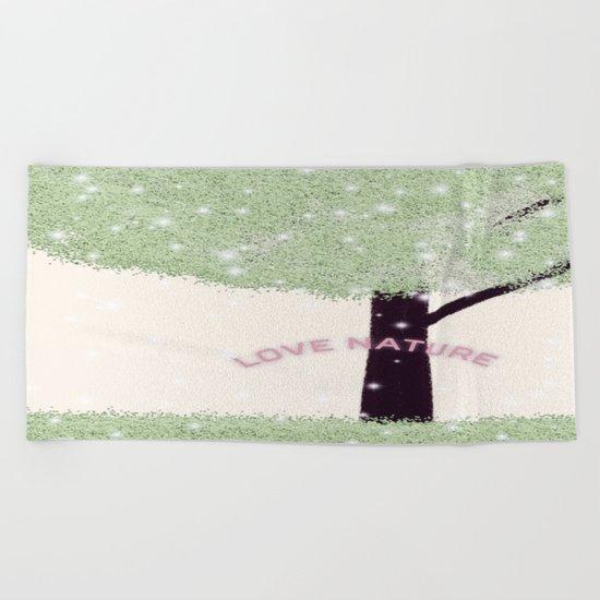 nature-872 Beach Towel