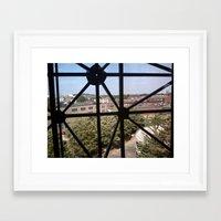 frame Framed Art Prints featuring Frame by Kammy Nature Prints