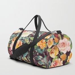 Fall Floral Duffle Bag