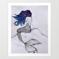 The Mermaid Life Art Print