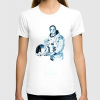 neil gaiman T-shirts featuring Neil Armstrong Tribute by Largetosti