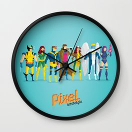 Pixel Mutants Wall Clock