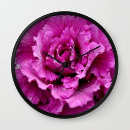 Pink rhapsody  Wall Clock