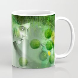 """Aquatic Spring Girl"" (2018 Version) Coffee Mug"