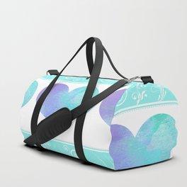 Design of Hearts Duffle Bag