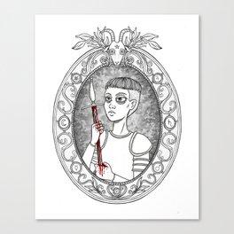 Juana de Arco Canvas Print