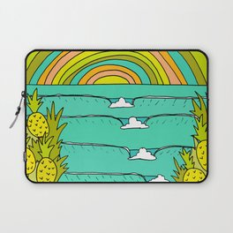pineapple fields and endless summer vibes Laptop Sleeve