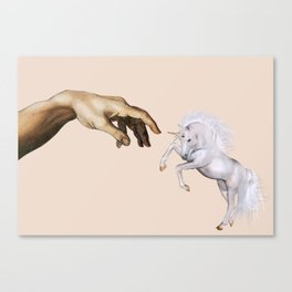 The creation Canvas Print