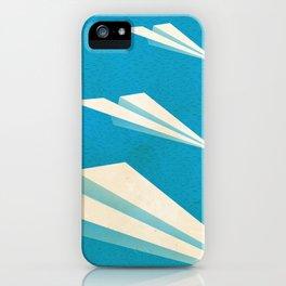 Paper squadron iPhone Case