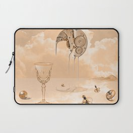 Beyond time Laptop Sleeve