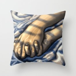 Your bed Throw Pillow