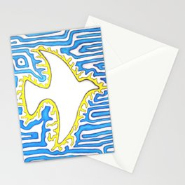 Sign of peace as the sun Stationery Cards