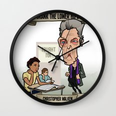 Crank the Lower Hips (Christopher Walken) Wall Clock
