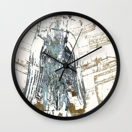 Fontaine St. Michel Wall Clock