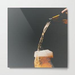 Fresh Beer Metal Print