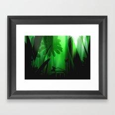 Deep in the rain forest. Framed Art Print