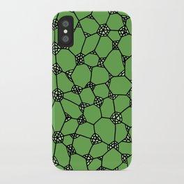 Yzor pattern 006-4 kitai green iPhone Case
