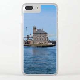 Operations Administrations Building for the Soo Locks Clear iPhone Case
