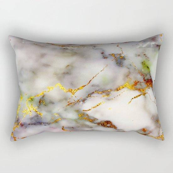 Marble Effect #5 Rectangular Pillow