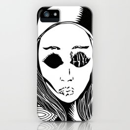 eva natas iPhone Case