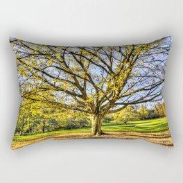 The Autumn Tree Rectangular Pillow