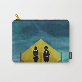 Moonrise Kingdom Silhouette Movie Poster Carry-All Pouch