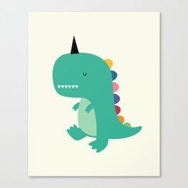 Dinocorn Canvas Print