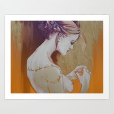 The less you love… (the more I love myself) Art Print