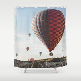 Daily Descent - Cappadocia Shower Curtain