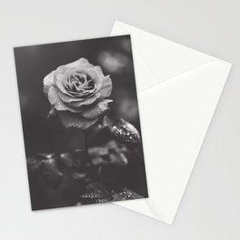 Dark rose Stationery Cards