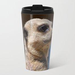Meerkat at Peak Wildlife Park Travel Mug