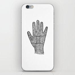 Gemini Hand / Hamsa iPhone Skin