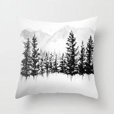 Old Pine III Throw Pillow
