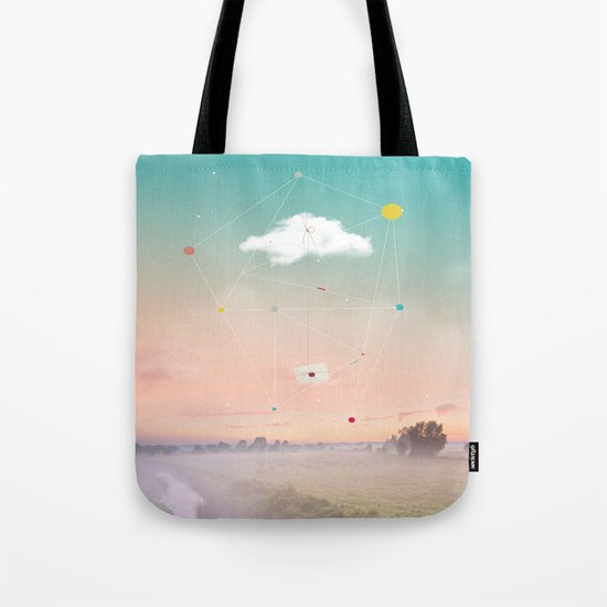 THE LAST MESSENGER Tote Bag