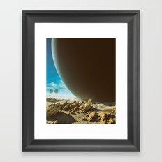 OUTE (everyday 07.01.16) Framed Art Print