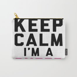 I CAN'T KEEP CALM, I'M A CHEER MOM Carry-All Pouch