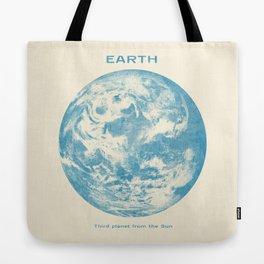 Third Planet  Tote Bag