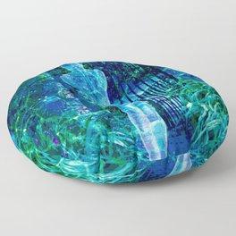 Blue Spirit Floor Pillow