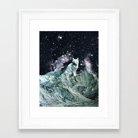 wizard Framed Art Prints featuring WIZARD by Beth Hoeckel