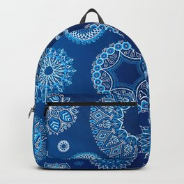 Winter blues Backpack
