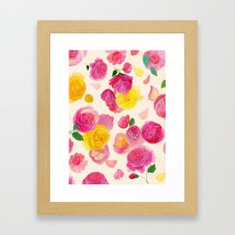 Royal Garden Framed Art Print