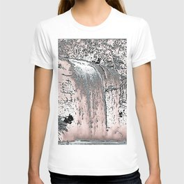 "series waterfall ""Cachoeira Grande"" IV T-shirt"