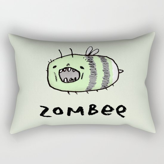 Zombee Rectangular Pillow