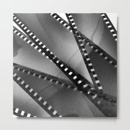 35 mm film  Metal Print