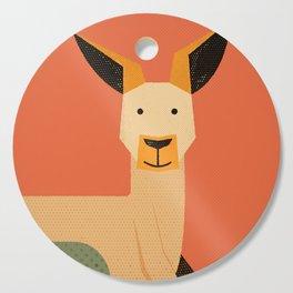 Whimsy Kangaroo Cutting Board