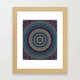 Mandala 580 Framed Art Print