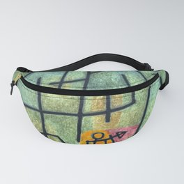 Paul Klee Conquest of the Mountain Fanny Pack