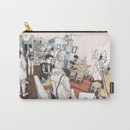 Little Rogue cafe Carry-All Pouch