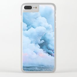Smoke On The Water Clear iPhone Case